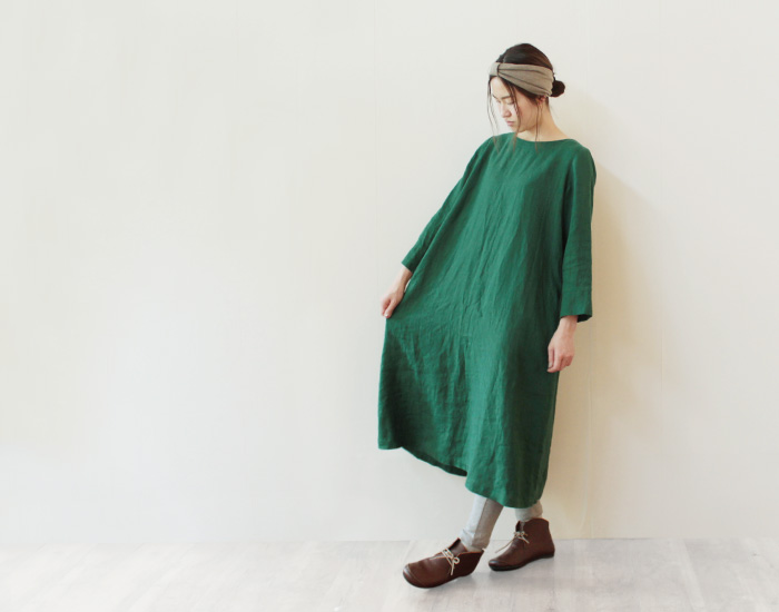 リネンの洋服