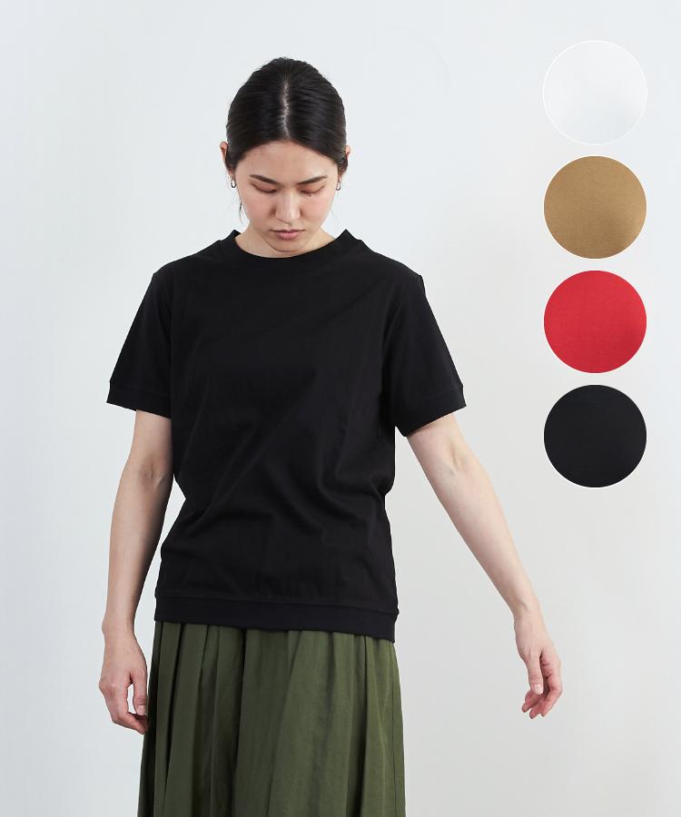 【nofl】オーガニックコットン半袖Tシャツ