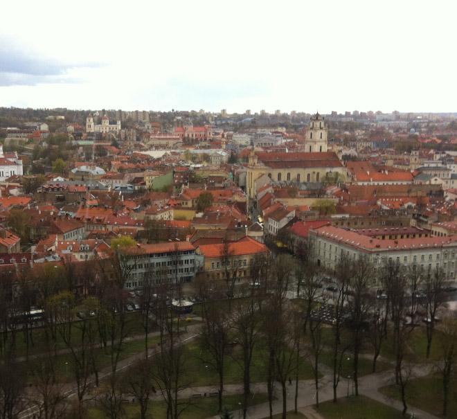 リトアニア風景